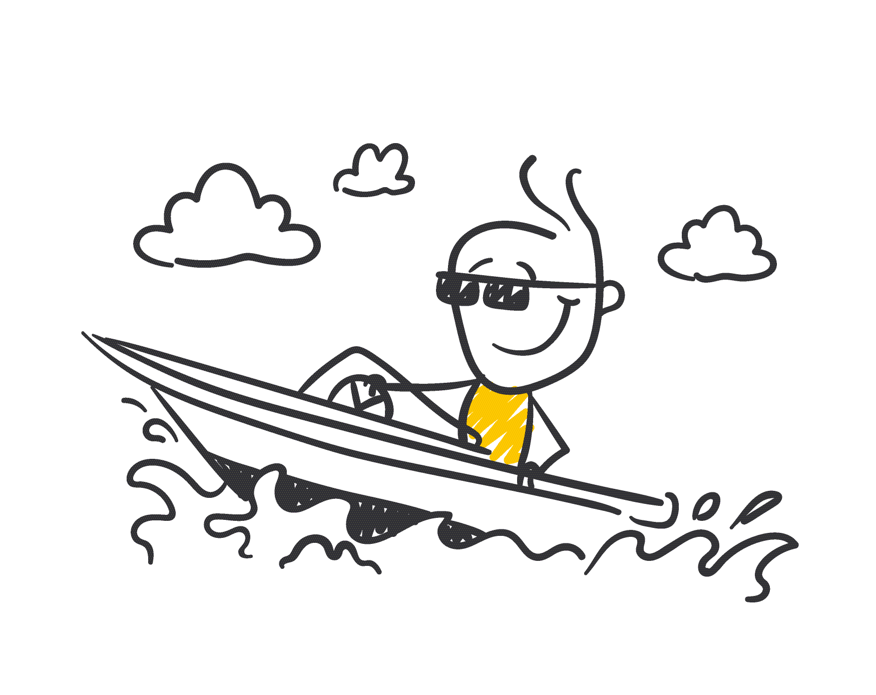 Ari drives a speedboat - Estate planning without kids